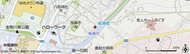 大分県中津市蛎瀬701周辺の地図