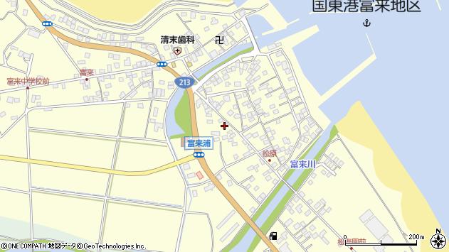 大分県国東市国東町富来浦2075周辺の地図