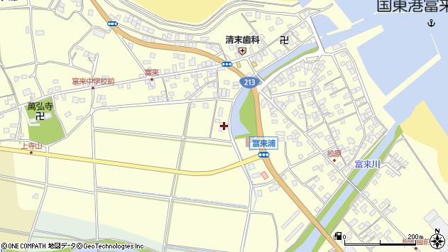 大分県国東市国東町富来浦1757周辺の地図