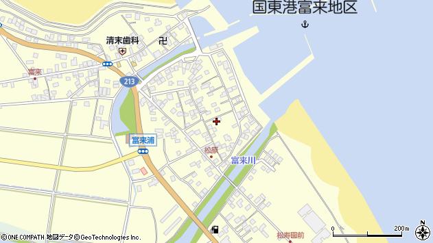 大分県国東市国東町富来浦2214周辺の地図
