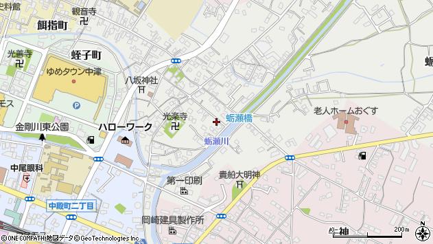大分県中津市蛎瀬699周辺の地図