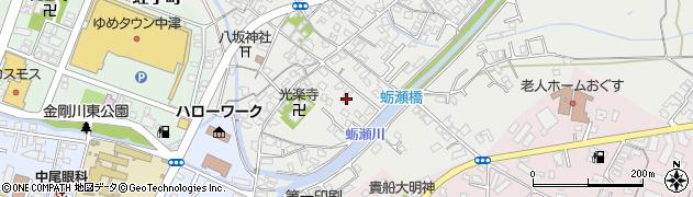 大分県中津市蛎瀬703周辺の地図