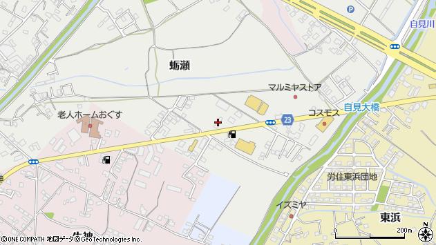 大分県中津市蛎瀬838周辺の地図