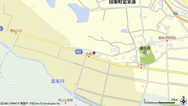 大分県国東市国東町富来浦292周辺の地図