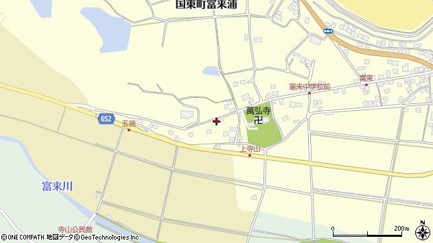 大分県国東市国東町富来浦310周辺の地図