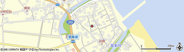 大分県国東市国東町富来浦2115周辺の地図