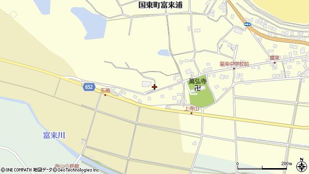 大分県国東市国東町富来浦274周辺の地図