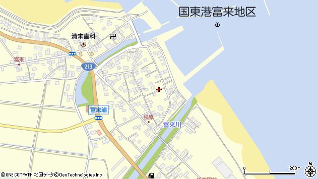 大分県国東市国東町富来浦2031周辺の地図
