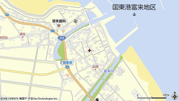大分県国東市国東町富来浦2199周辺の地図