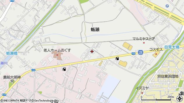 大分県中津市蛎瀬811周辺の地図