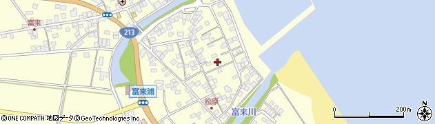 大分県国東市国東町富来浦2208周辺の地図