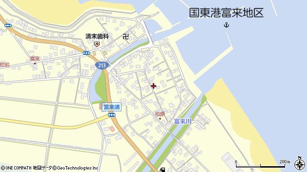 大分県国東市国東町富来浦2195周辺の地図