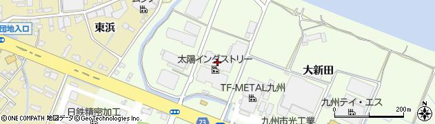 大分県中津市大新田425周辺の地図