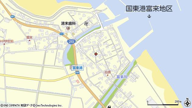 大分県国東市国東町富来浦2116周辺の地図