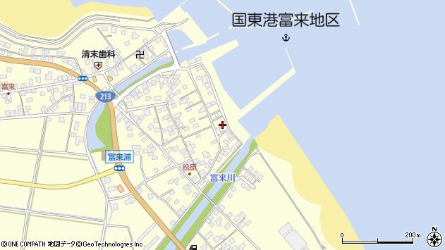 大分県国東市国東町富来浦2744周辺の地図