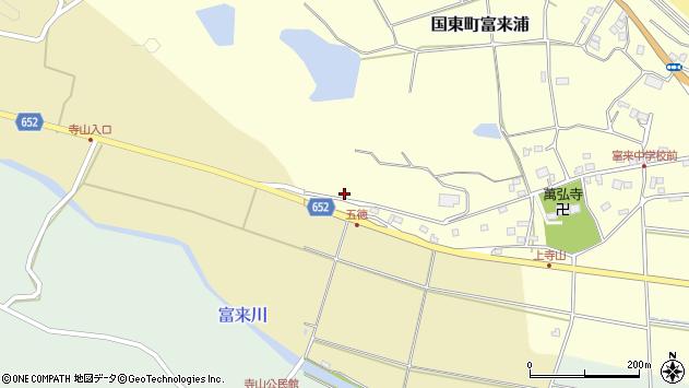 大分県国東市国東町富来浦297周辺の地図