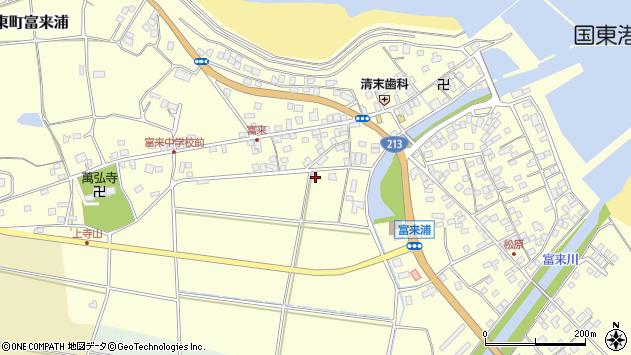 大分県国東市国東町富来浦1619周辺の地図