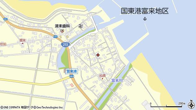 大分県国東市国東町富来浦2188周辺の地図
