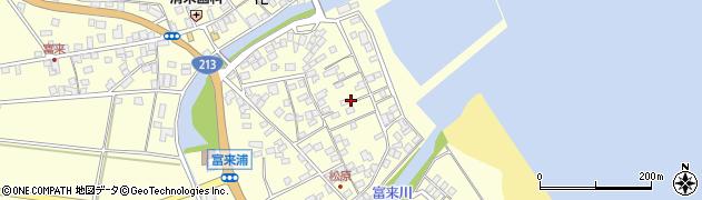 大分県国東市国東町富来浦2193周辺の地図