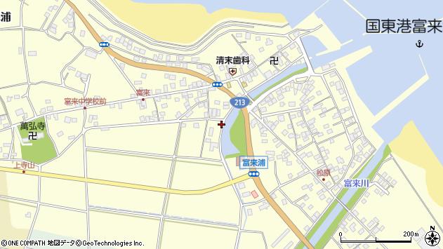 大分県国東市国東町富来浦1603周辺の地図