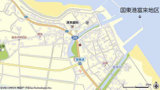 大分県国東市国東町富来浦1888周辺の地図