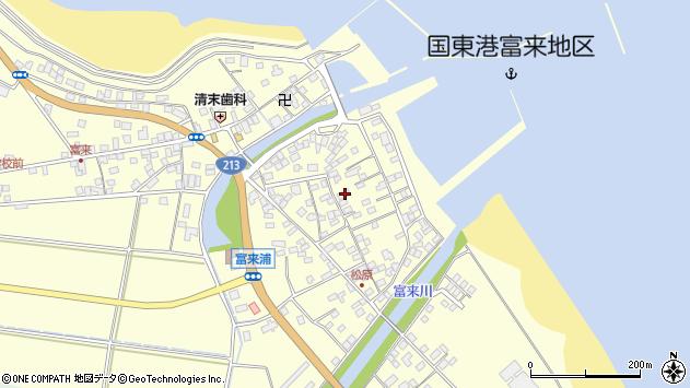 大分県国東市国東町富来浦2187周辺の地図
