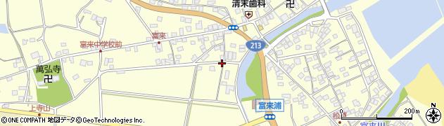 大分県国東市国東町富来浦1636周辺の地図