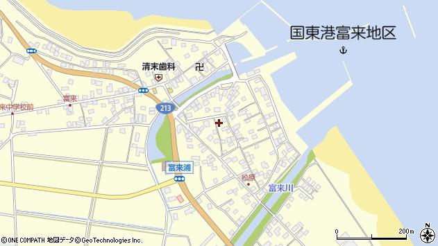 大分県国東市国東町富来浦2125周辺の地図