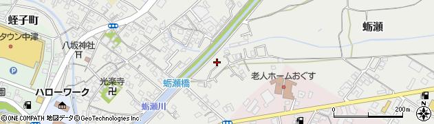 大分県中津市蛎瀬751周辺の地図