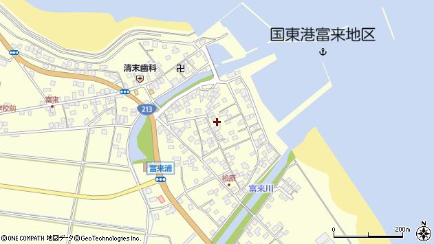 大分県国東市国東町富来浦2180周辺の地図
