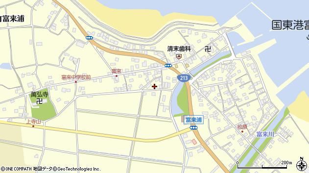 大分県国東市国東町富来浦1587周辺の地図