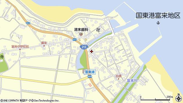 大分県国東市国東町富来浦2041周辺の地図