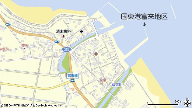 大分県国東市国東町富来浦2171周辺の地図