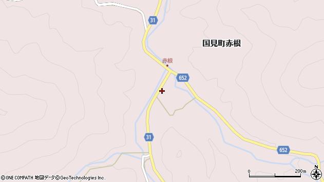 大分県国東市国見町赤根1213周辺の地図