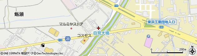 大分県中津市蛎瀬1134周辺の地図