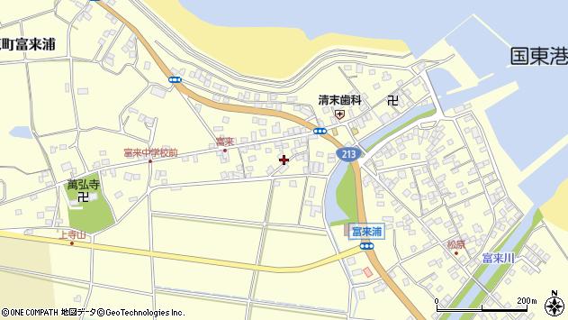 大分県国東市国東町富来浦1398周辺の地図