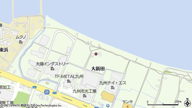 大分県中津市大新田339周辺の地図