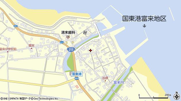 大分県国東市国東町富来浦2137周辺の地図