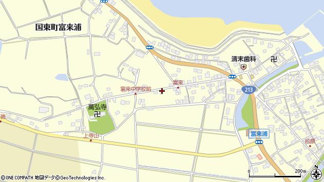大分県国東市国東町富来浦1352周辺の地図