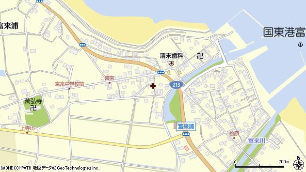 大分県国東市国東町富来浦1576周辺の地図