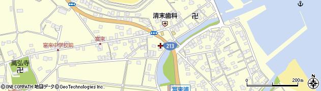 大分県国東市国東町富来浦1429周辺の地図