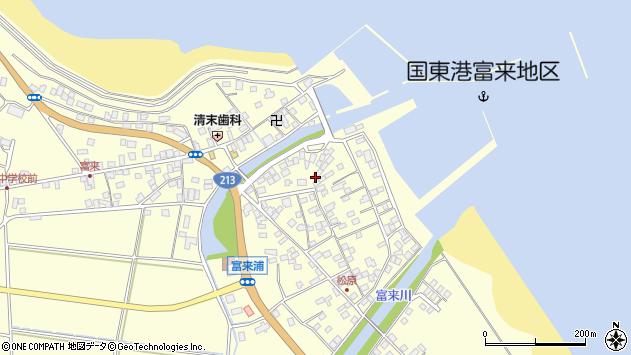 大分県国東市国東町富来浦2153周辺の地図
