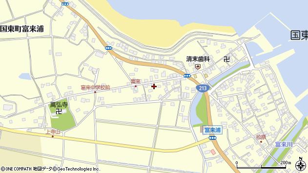 大分県国東市国東町富来浦1342周辺の地図