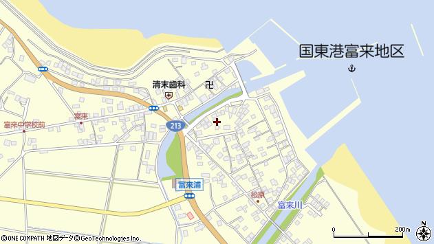 大分県国東市国東町富来浦2135周辺の地図