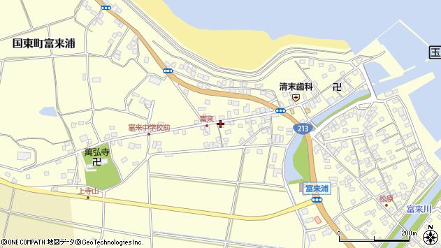大分県国東市国東町富来浦1327周辺の地図