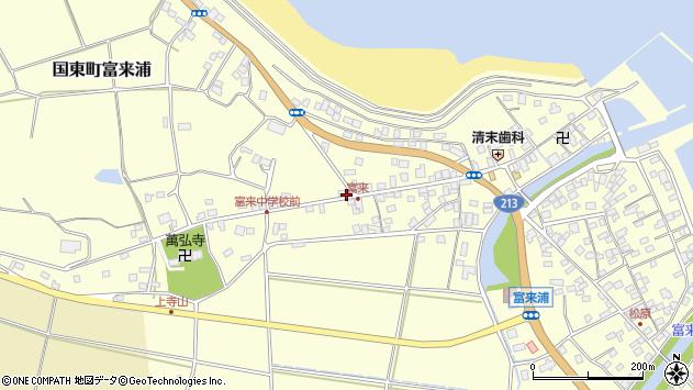 大分県国東市国東町富来浦1508周辺の地図