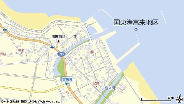 大分県国東市国東町富来浦2162周辺の地図