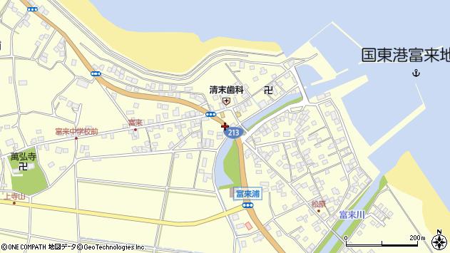 大分県国東市国東町富来浦1443周辺の地図