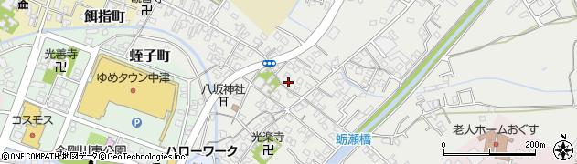 大分県中津市蛎瀬384周辺の地図
