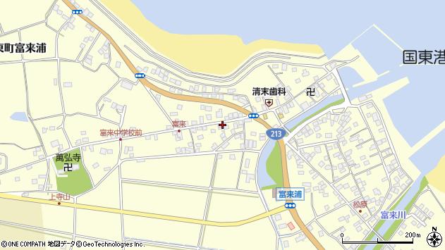大分県国東市国東町富来浦1335周辺の地図